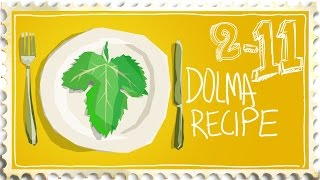 Cooking with Grape Leaves - Dolma Recipe