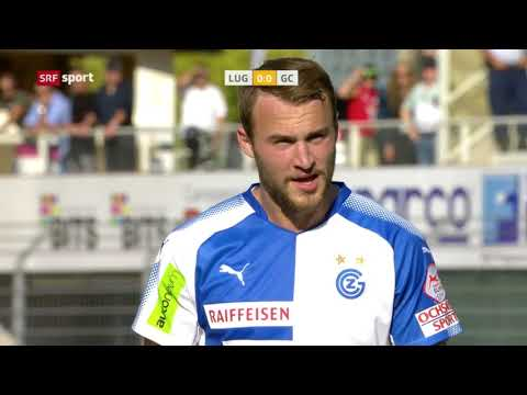 Raiffeisen Super League 9. Spieltag FC Lugano - GCZ 0:3