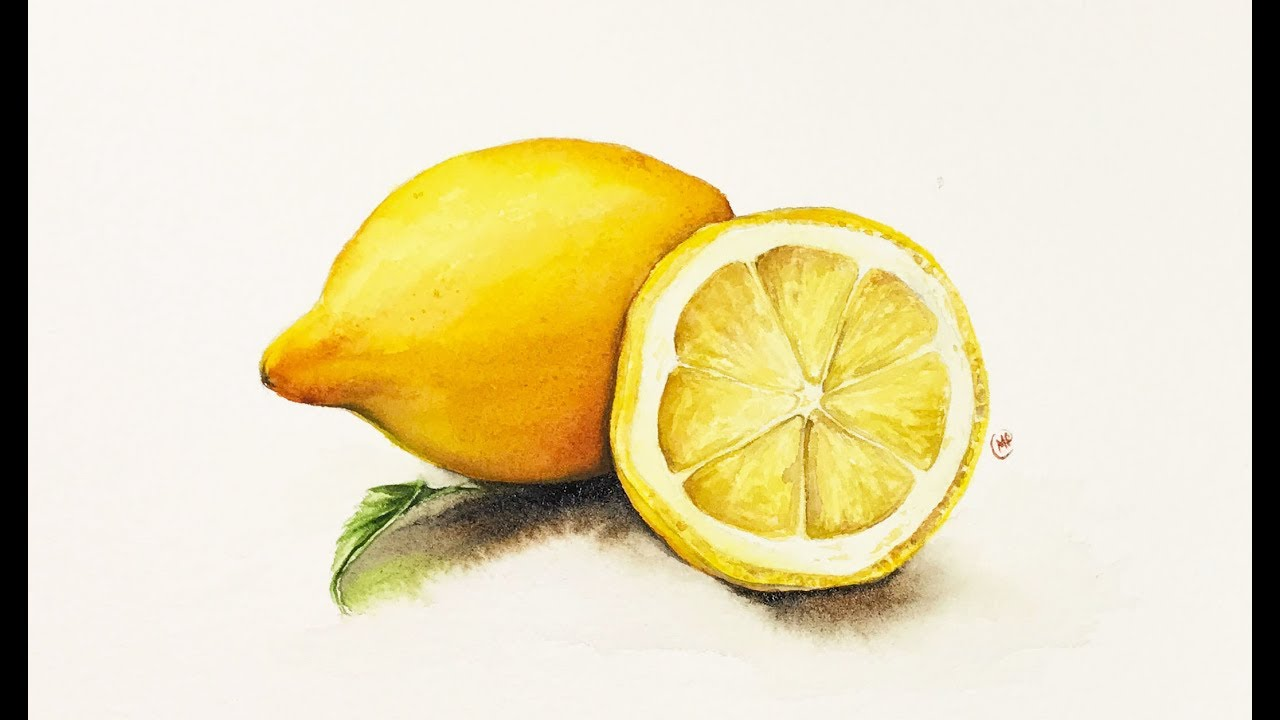 Lemon Yellow Acrylic Paint