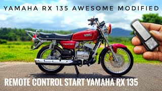 YAMAHA RX135 REMOTE START | SELF START YAMAHA RX135 | CENTRAL LOCK YAMAHA