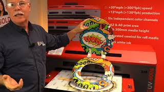 Small Format UV Printer Possibilities | Printing on Toilet Seats