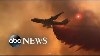 Fire grows to largest in California history | ABC News