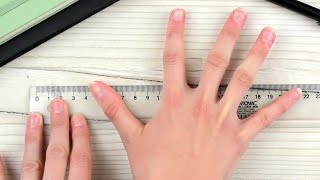 How to Measure Hąnd Size