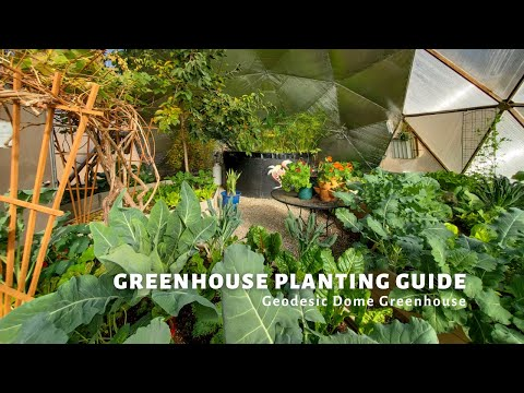 Greenhouse Planting Guide – Geodesic Dome