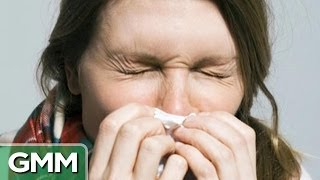 Does Blowing Your Nose Make a Cold Worse?