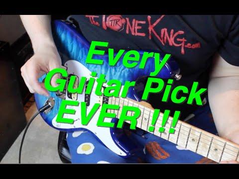 EVERY GUITAR PICK EVER !!!!!!!!