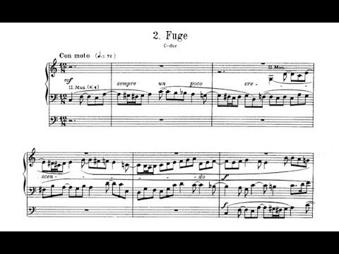 Reger: Fuge C-Dur op. 63 Nr. 2