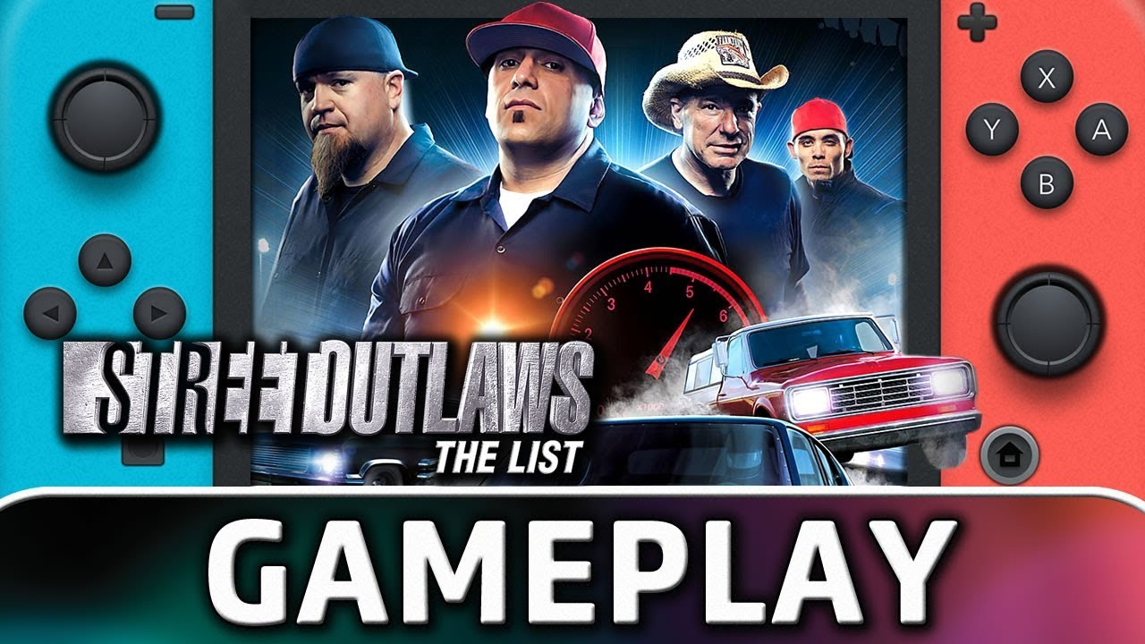 Street Outlaws: The List | First 5 Minutes on Nintendo Switch