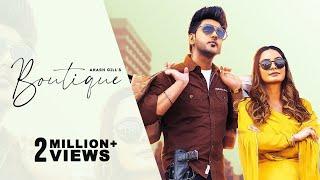 Boutique  (Official Video) Akash Gill   Gurlez Akhtar   Teji Sandhu   New Punjabi Song 2021