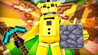 Golden Freddy Build Battle ?!   Minecraft FNAF Roleplay