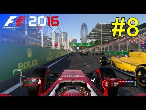 F1 2016 - Let's Make Kimi World Champion Again #8 - 100% Race 'Baku'