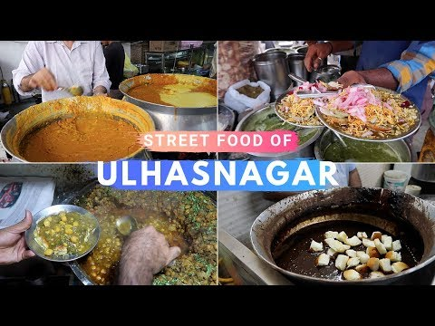 Ulhasnagar Street Food | Sindhi Snacks & Breakfast | Golgapp