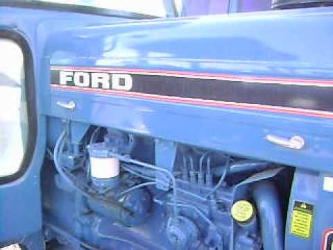 MOV09410 tractor ford 6610 cabina