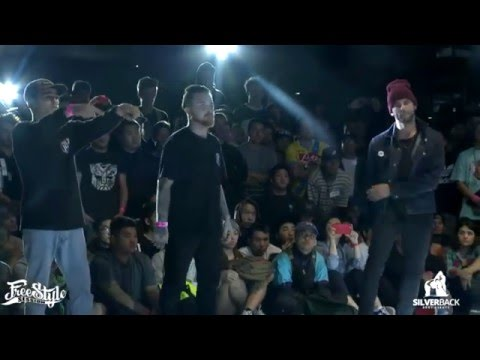 Bboy Kid David, Casper, Luigi vs Double Kill  Freestyle Session World Finals 2015