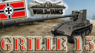 World of Tanks /// Grille 15 - Ace Tanker, Top Gun