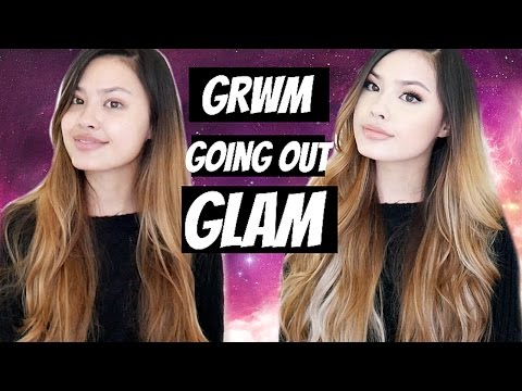 Get Ready With Me: Going Out Glam | Be Palette by Bubzbeauty + Voluminous Hair