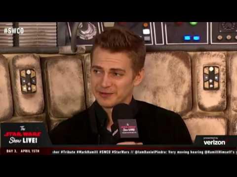 Hayden Christensen Anakin Skywalker   Star Wars Celebration 2017 Orlando