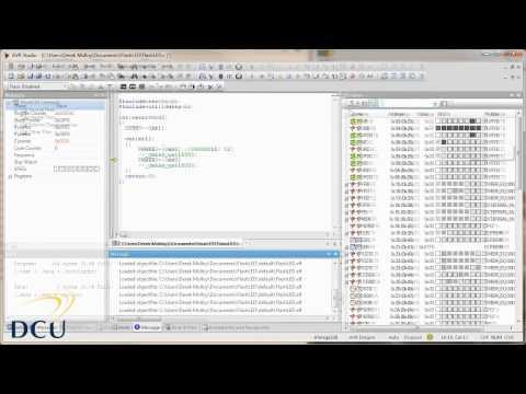 AVR Programming - AVR Studio Tutorial Introduction