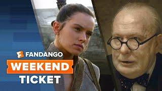 Now In Theaters: The Last Jedi, Darkest Hour, Ferdinand   Weekend Ticket