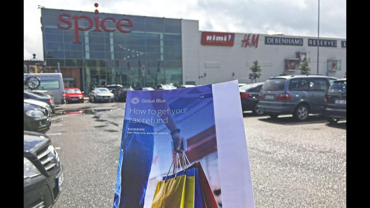 Цены на продукты и одежду в Латвии. Как оформить Tax free. Магазин Zara