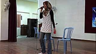 Ainan Tasneem - Aku Suka Dia live @ SMK Seksyen 18, Shah Alam