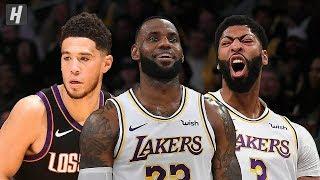 Phoenix Suns vs Los Angeles Lakers - Full Game Highlights   January 1, 2020   2019-20 NBA Season