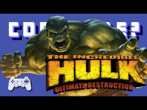 The Incredible Hulk - Ultimate Destruction (PS2) - Continue?