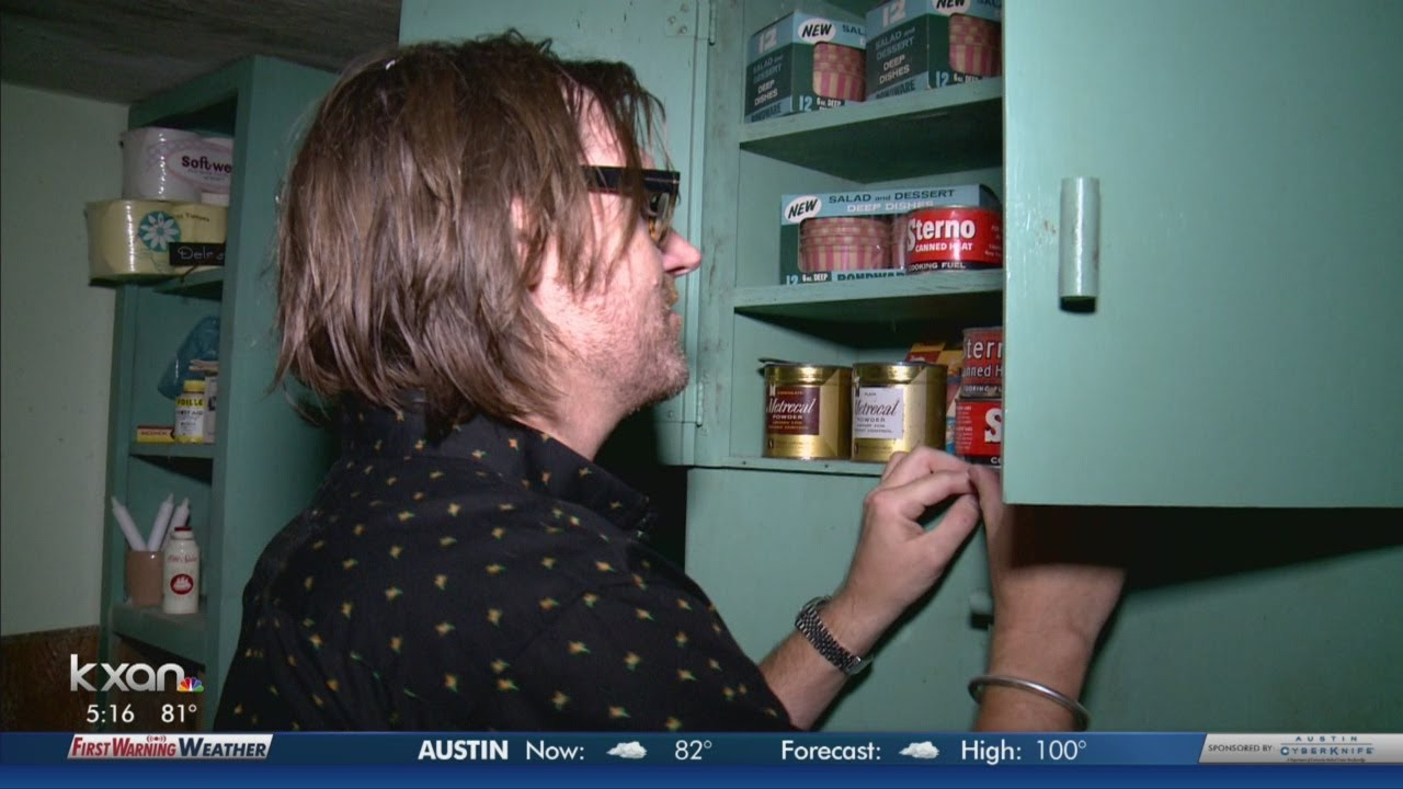 Tour a fallout shelter from the 1960s
