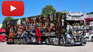 Heide Logistik / Arminius-Truck Scania CS 20 HD Kühlkoffer-Sattelzug