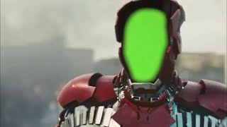 Green Screen Iron Man with improved targeting HUD