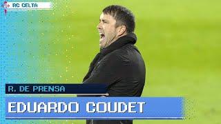 Rueda de prensa de Eduardo Coudet tras el RC Celta - Villarreal CF