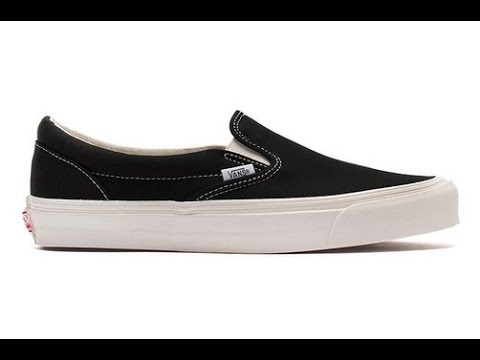 b7247422ed Shoe Review  Vans Vault Originals  Canvas  OG Classic Slip On LX (Black)