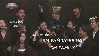 sm family being sm family
