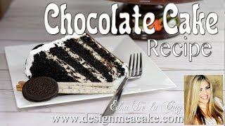 Moist Chocolate Cake Recipe!