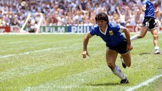 Diego Maradona Historical Performance vs England ● World Cup 1986