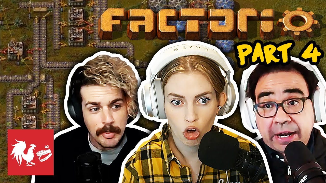Barb's Laying Pipe - Factorio | Turned On
