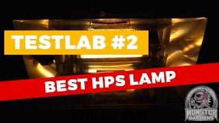 TestLab # 2   HPS Single Ended MEGA Light Test   BEST HPS - Grow Light Comparison Testing Test Lab