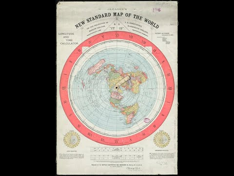 1892 Flat Earth Map Found In Boston Library & Deception Island by Russianvids