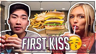 Our First Kiss Story (MUKBANG)