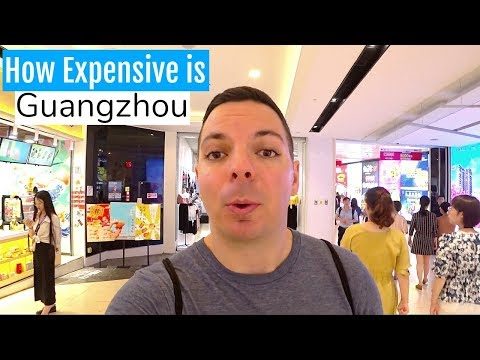 How Expensive is Guangzhou China? TRAVEL COST