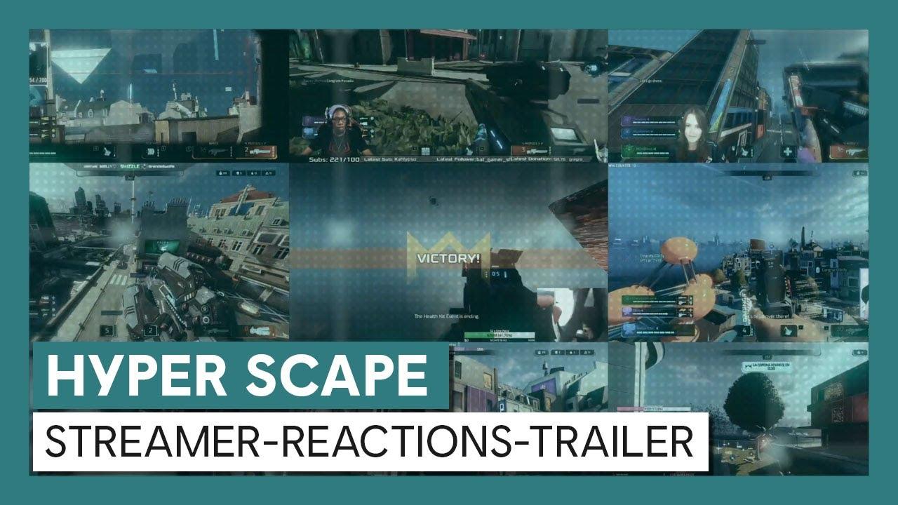 Hyper Scape: Streamer-Reactions-Trailer