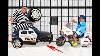Сеня и его Детские Истории про Полицейские Машинки Сборник