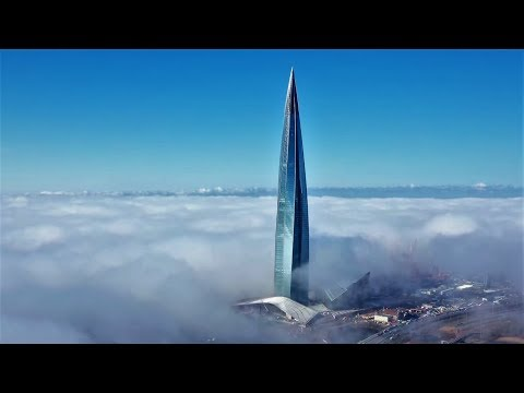 Europe's Tallest Building Is Almost Completed: Lakhta Center