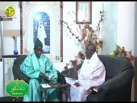 "Emission Dundal Koor Sur Al Mouridiyyah Tv: Ce 01 Mai 20202: Thème Qacida ""Roumna Choukourar Ladhi"""