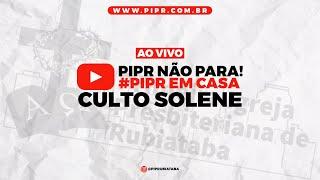 CULTO MATUTINO - AO VIVO | Rev. Josley Filho | PIPR