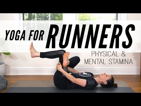 Yoga For Runners Physical & Mental Stamina | Yoga With Adriene