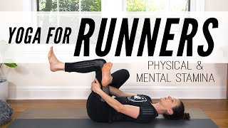 Yoga For Runners - Physical & Mental Stamina  |  Yoga With Adriene