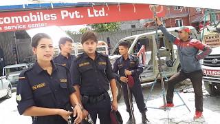 Andhopan दुर्गेश  थापा पुलिसको रोलमा Durgesh thapa mausam gurung
