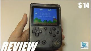 BIXWÎNE: Gocomma Retro Gaming Handheld Console (168-in-1)