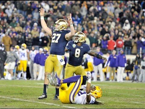 Notre Dame Football 2014-15 Season Highlights
